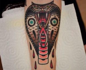 Tatuajes de cobras