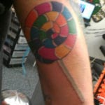 Tatuajes de lollipop