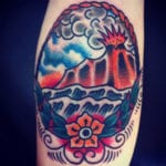 Tatuajes de volcanes