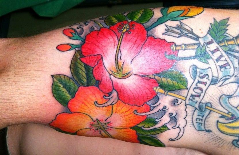 Tatuajes De Flores Hawaianas