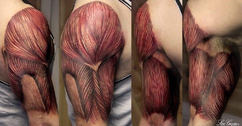 tatuajes anatómicos