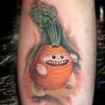 Tatuajes de Zanahorias