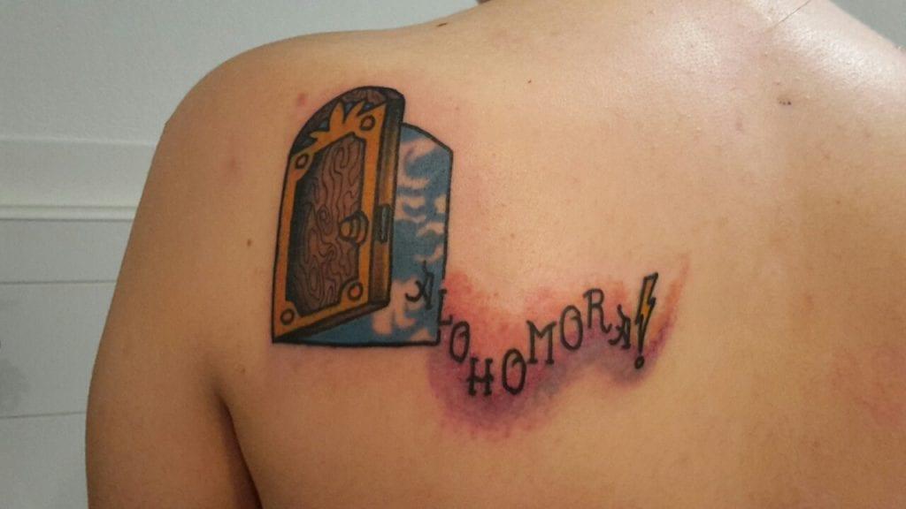 Tatuaje Alohomora
