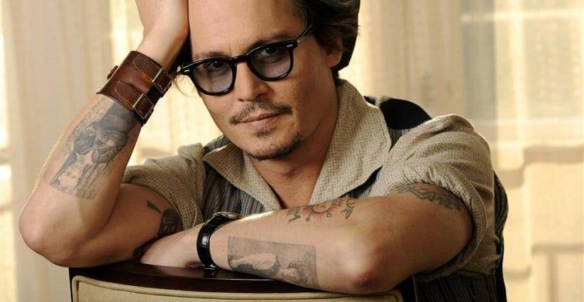 Tatuajes de Johnny Depp