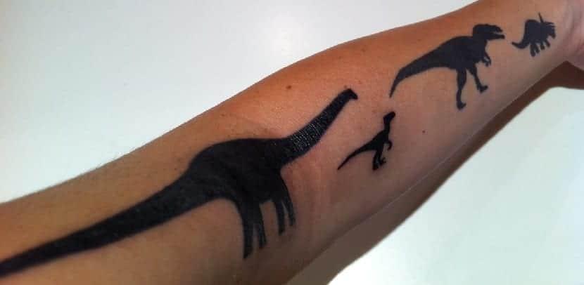 Tatuajes de dinosaurios