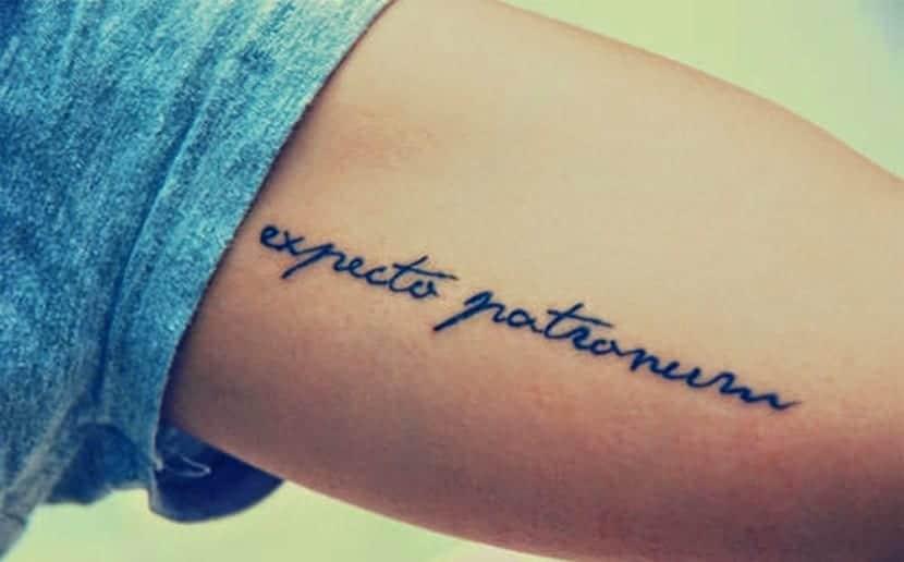 Tatuaje Patronum