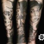 Tatuajes de Angelina Jolie