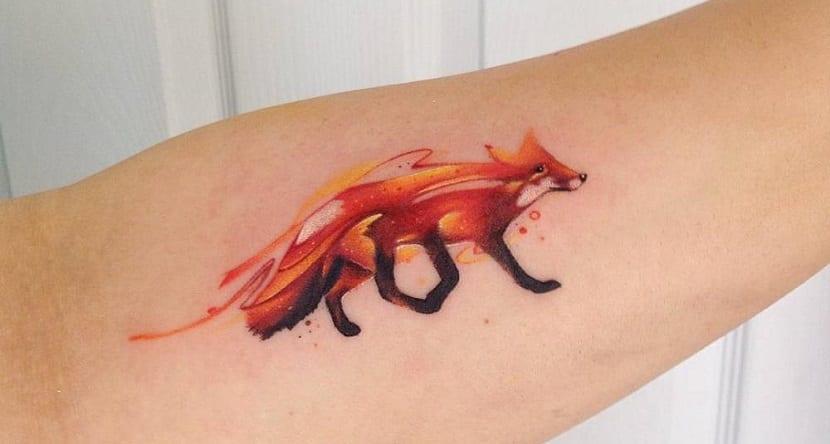 Tatuajes De Zorros Los Tatuajes De Los Animales Mas Astutos