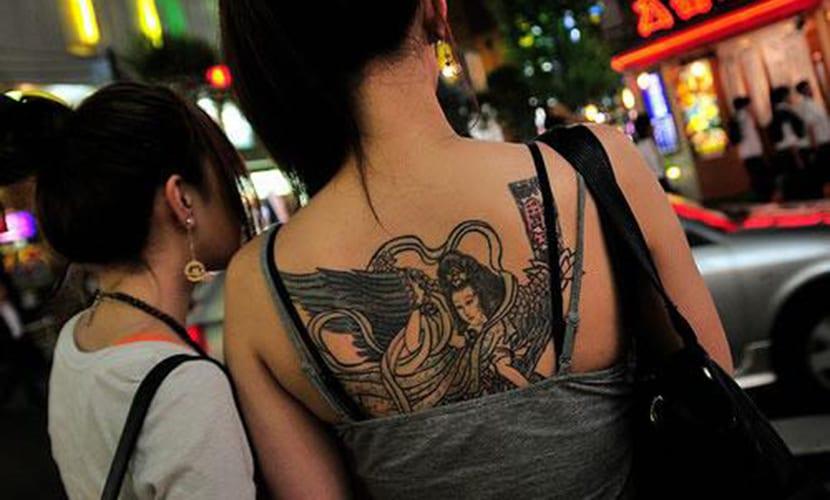 Tatuajes en Japón