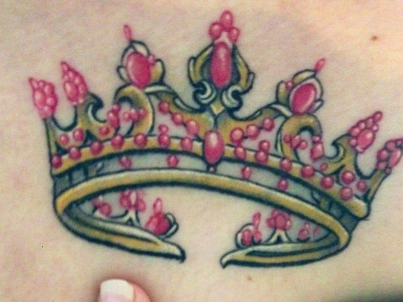 Tatuajes De Coronas De Princesas