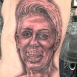 miley tattoo