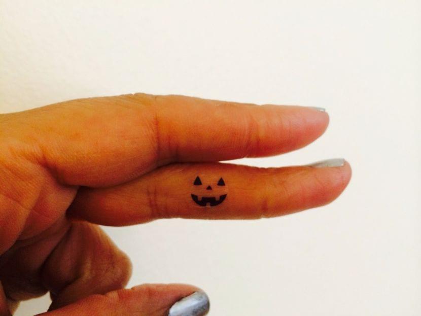 tatuaje para Halloween
