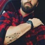 Tatuaje cinco flechas