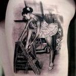 Tatuajes de bailarinas