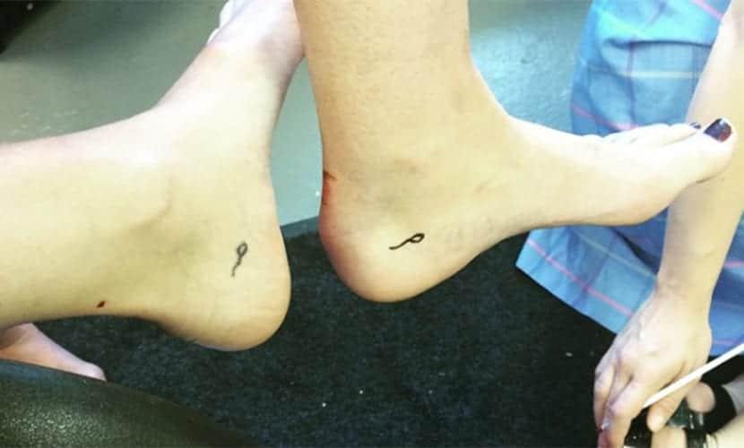 Tatuajes de Espermatozoides - Mandy Moore