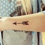 Tatuajes de flechas