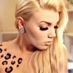 Tatuajes de manchas de leopardo