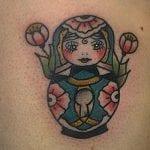 Tatuajes de muñecas rusas