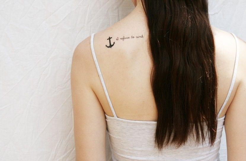 Tatuajes De Anclas Para Mujer