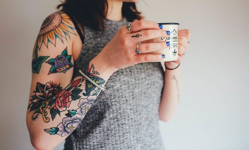 Depilar antes de tatuar