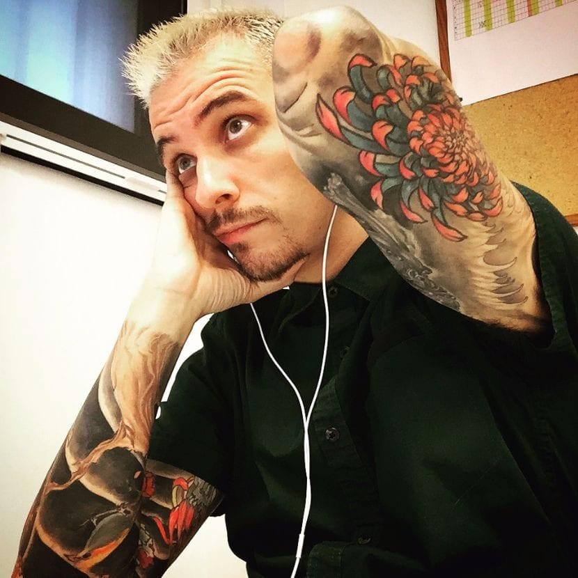 Oscar Quetglas tattoo