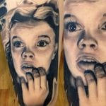 Judy Garland tattoo