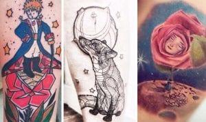 tatuaje le petit prince