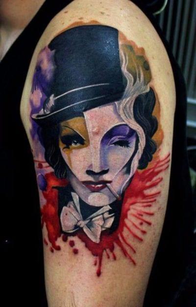 marlene dietrich tattoo