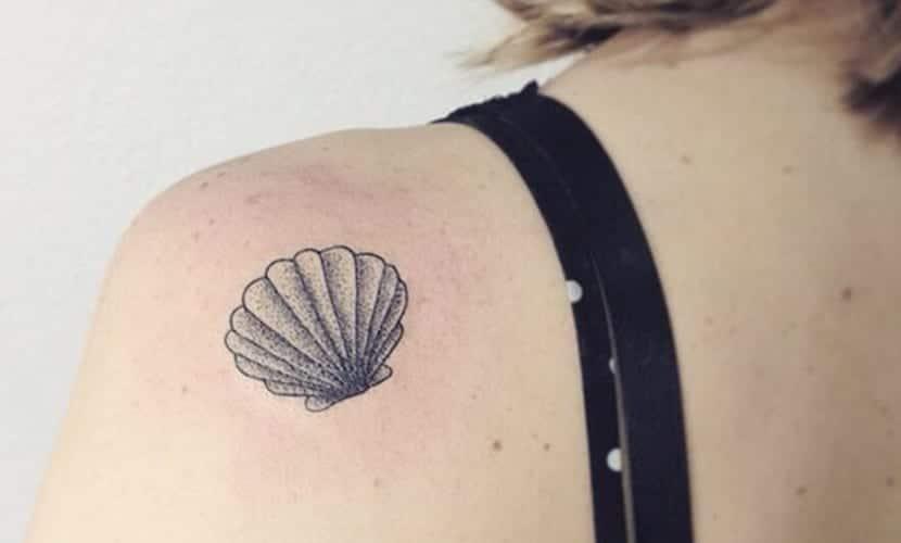 Tatuajes De Conchas De Mar Y Su Bonito Significado