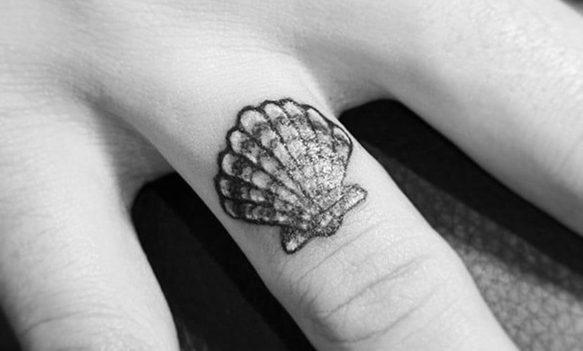 Tatuajes De Conchas De Mar Y Su Bonito Significado - Fotos-de-conchas-de-mar