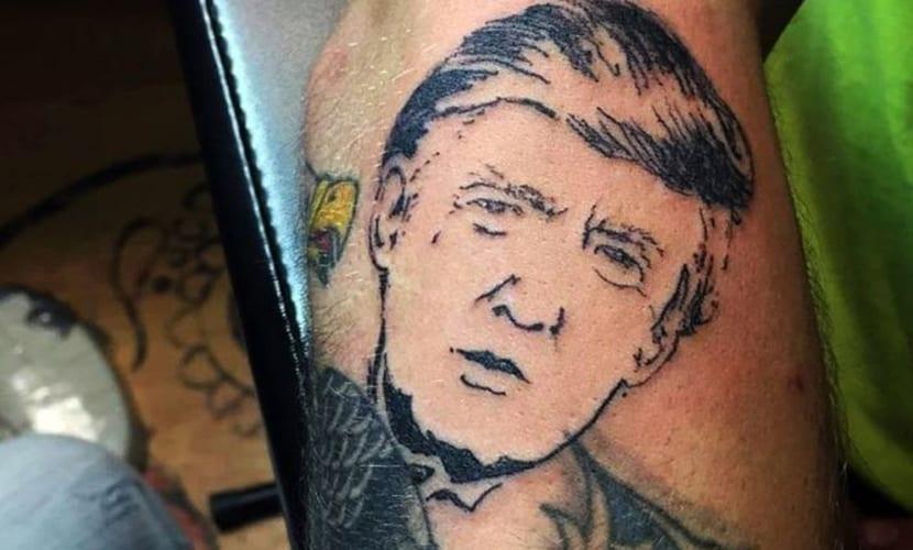 Tatuajes de Donald Trump