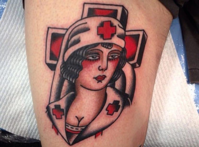 Tatuajes de enfermeras