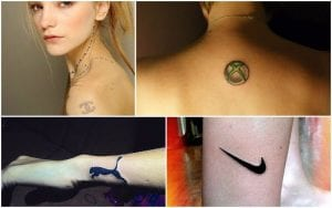 tatuajes de anuncios
