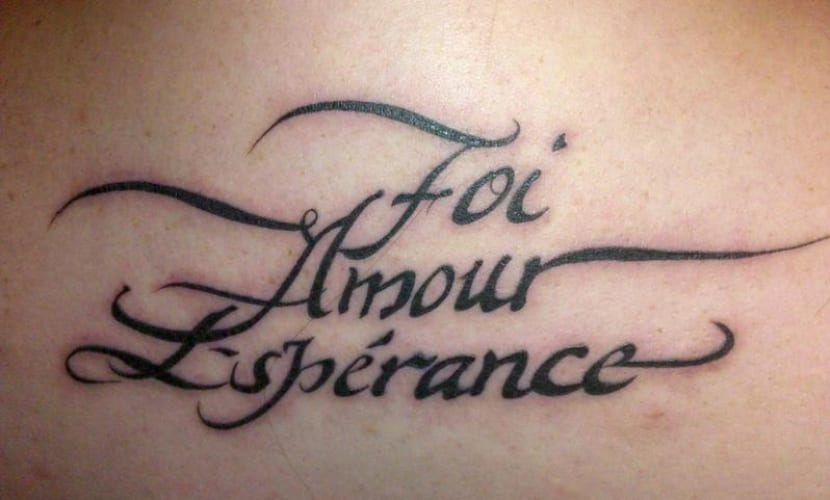 Frases En Frances Bonitas Ejemplos De Tatuajes Sencillos