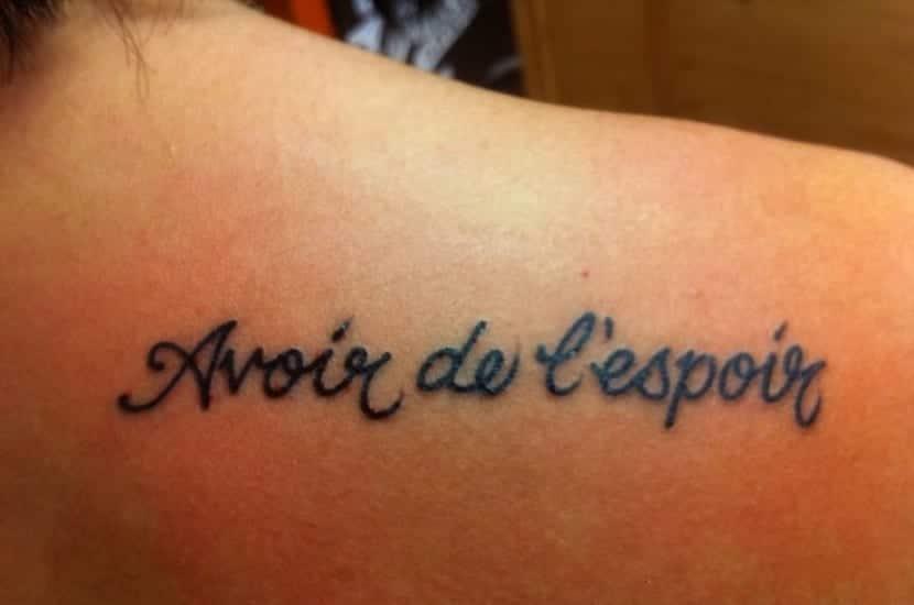 Frases En Francés Bonitas Ejemplos De Tatuajes Sencillos