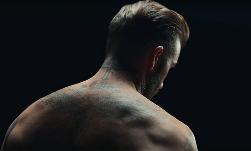 Tatuajes de David Beckham en la nueva campaña de UNICEF
