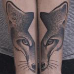 Tatuajes en dos mitades