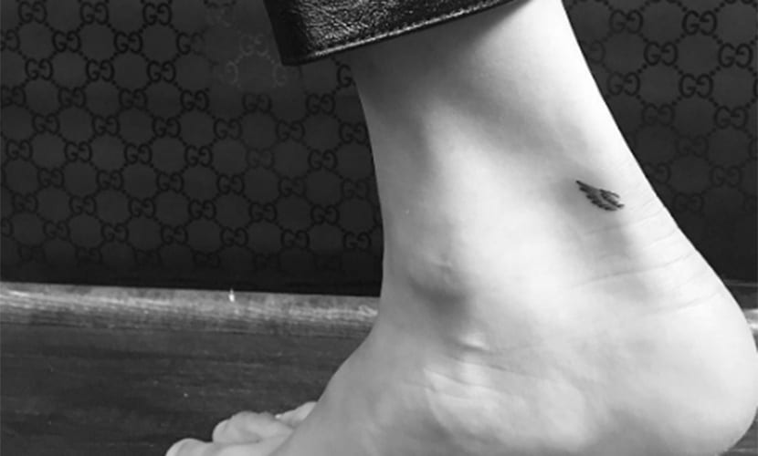 Nuevo tatuaje de Bella Hadid