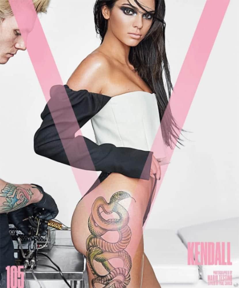 Nuevo tatuaje de Kendall Jenner