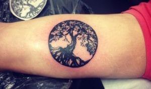 tatuaje del árbol de la vida