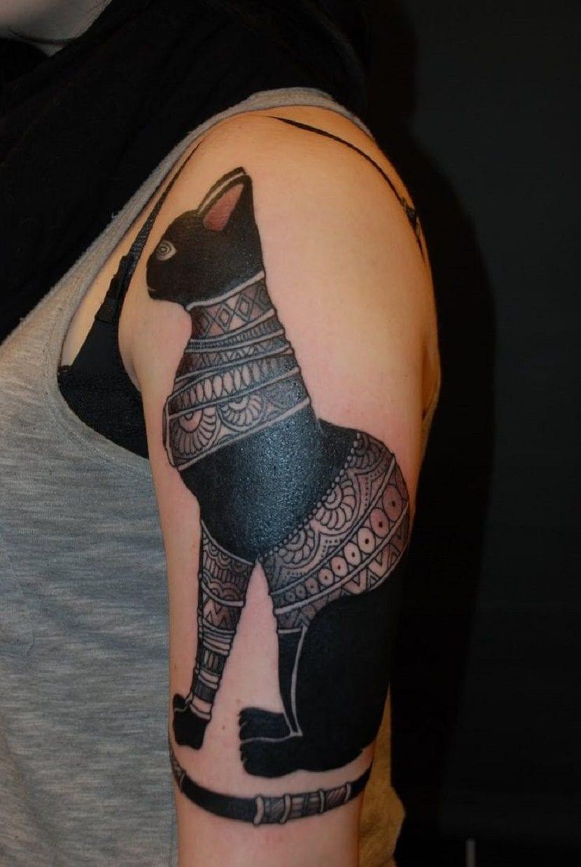 Tatuajes De Gatos Egipcios