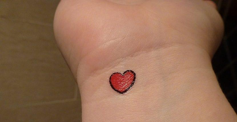 Tatuajes De Corazones Pequeños