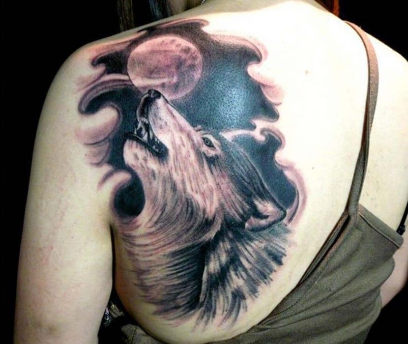 Lobo Aullando A La Luna Significado Y Simbolismo De Este Tatuaje
