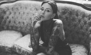 Nuevo tatuaje de Candelaria Tinelli