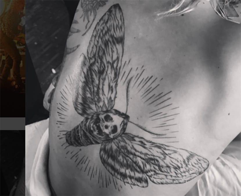 Nuevo tatuaje de Lady Gaga