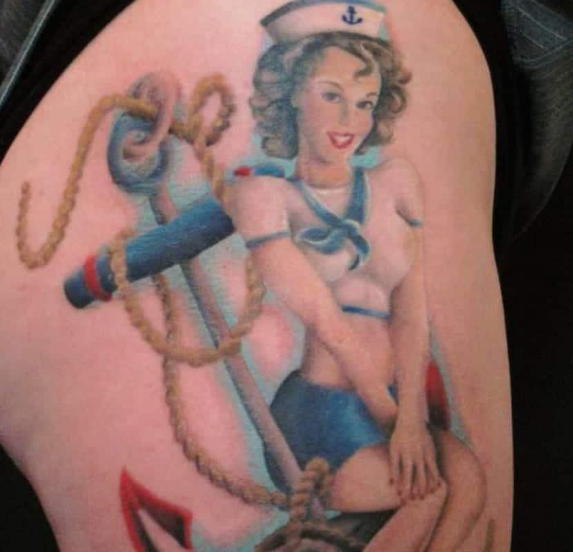 Tatuajes Pin Up Los Mejores Ejemplos Y Significado