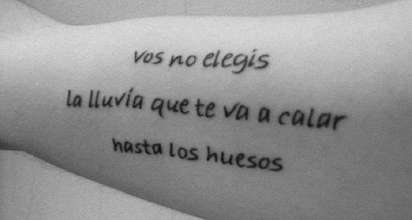 10 Frases En Espanol Para Tatuajes De Amistad