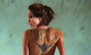 Tatuaje de Angelina Jolie