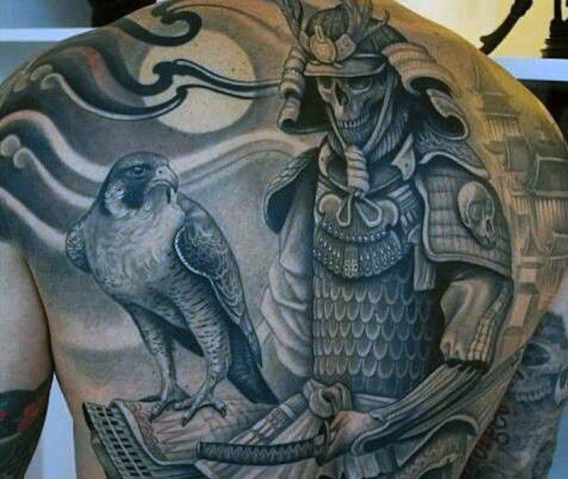 Tatuajes De Samurais Guerreros Con Gran Simbolismo
