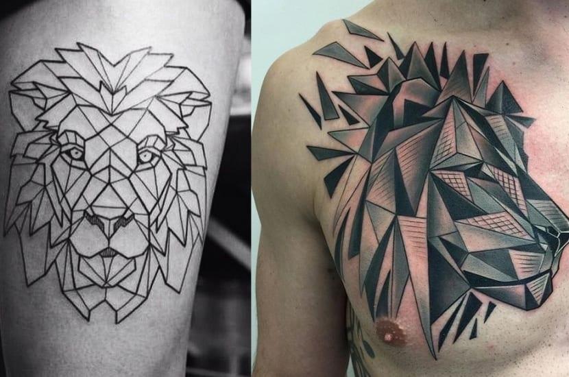 Tatuajes De León Decora Tu Piel Con El Rey De La Selva